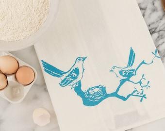 SALE: Mockingbird Tea Towel