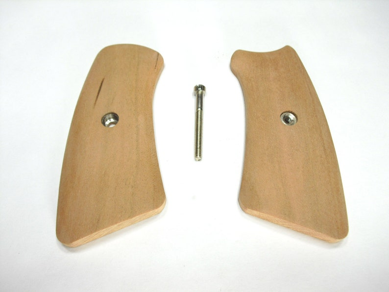 Unfinished Cherry Ruger Gp100 Grips Inserts
