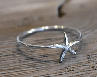 Bohemian Ring Beach Ring Seashell Ring Stylish Ring Sterling Silver Ring For Women Casual Ring
