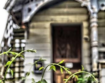 Abandoned House Photography Print, Door Photo, Urban Exploration, Urbex Photo, Abandoned Places, -