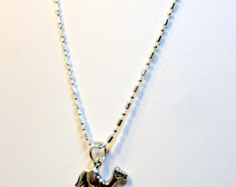 Camel Necklace - Sterling Silver - o d a a t