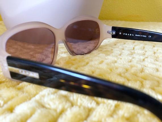 90s Authentic Prada Sunglasses in Cream Frame - image 8
