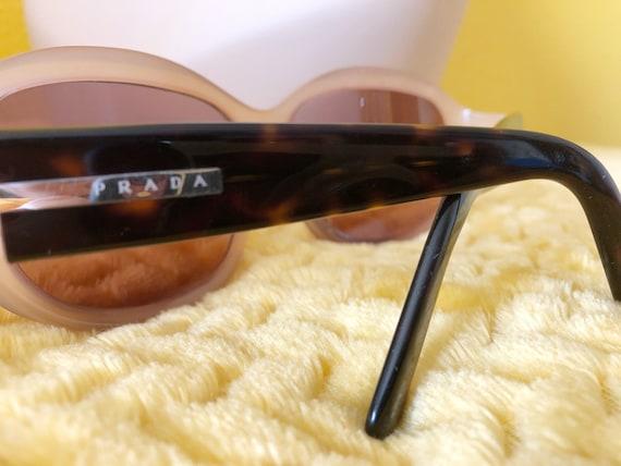 90s Authentic Prada Sunglasses in Cream Frame - image 3