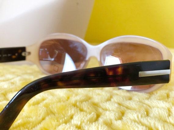 90s Authentic Prada Sunglasses in Cream Frame - image 9