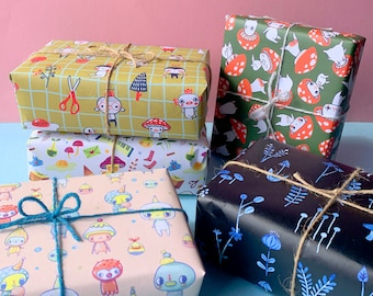 Gift Wrap - 5 PACK - All 5 designs