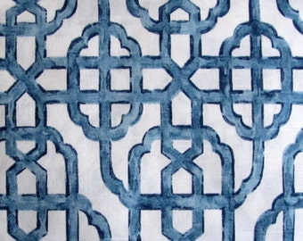Bradford Valance Imperial Seaside Blue Lattice