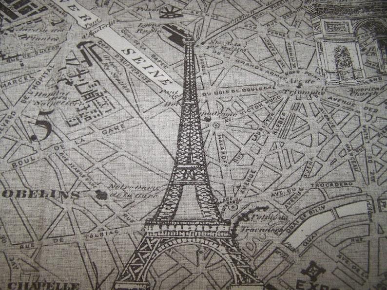Parisienne designer multipurpose on cotton duck fabric