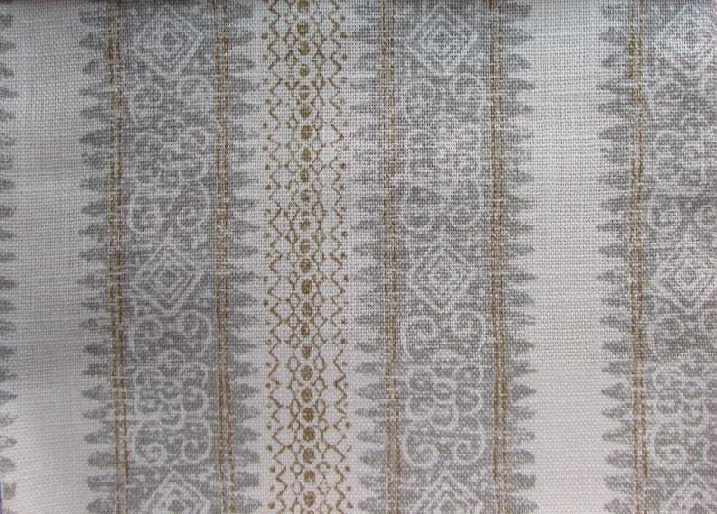 FRASCATI FLAX home decor  print linen cotton multipurpose fabric