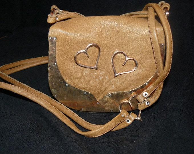 Heart You Purse Handcrafted Unique Handbag