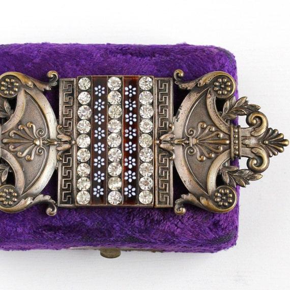 Vente boucle de ceinture ancienne argent plaqué Français   Etsy 3109a127078