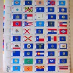 Flags of our Fathers 50 UNused Vintage US Postage Stamps 13c Star Spangled Banners 1976 Save the Date Nautical Flag State Flags Bicentennial