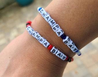 Champa Bay Beaded Word Bracelets Custom Bracelets, Personalized Bracelets