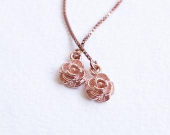 Rose Gold Threaders