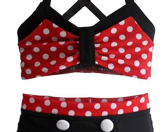 5930c06f581 JoJo Bikini in Minnie  2019 Collection (Size 12 18 months - 12)