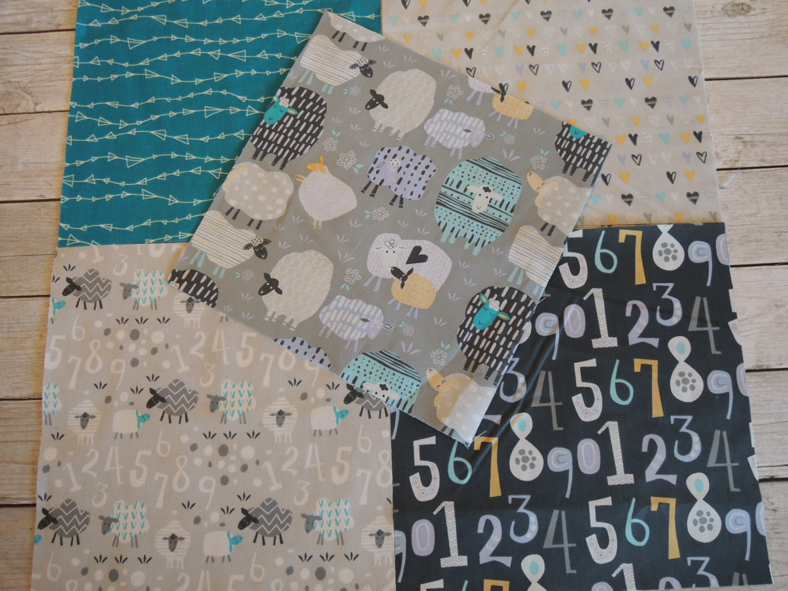 Easy flannel baby quilt