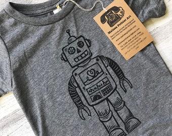 78b2ac54e Robot Shirt for Kids, Robot Birthday Shirt, Boys Robot T-Shirt, Girls Robot  Shirt, Robot Theme, Sci-Fi Robot Shirt, Retro Robot, Cute Robot