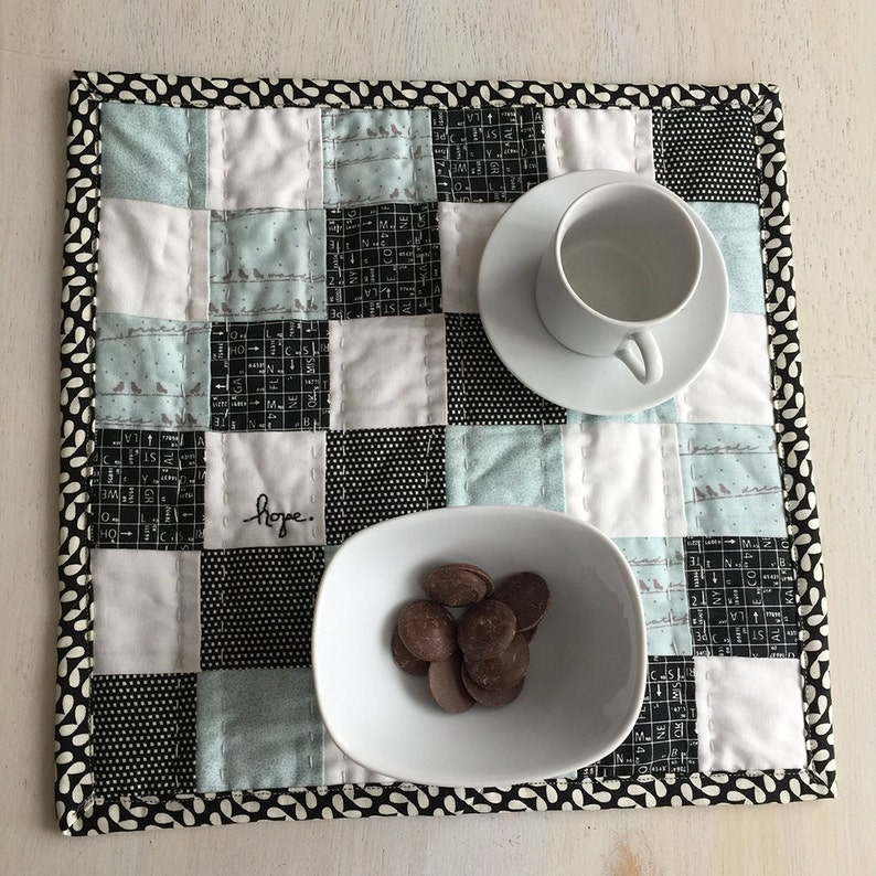 FREE shipping Hope filled Snack Mat Hand quilted