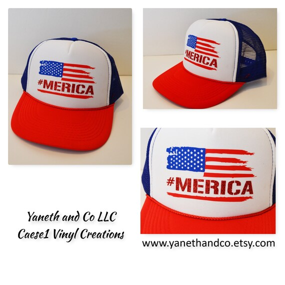 7d1318cbb18 July 4th America Trucker hatmerica Trucker hatAmerican Flag