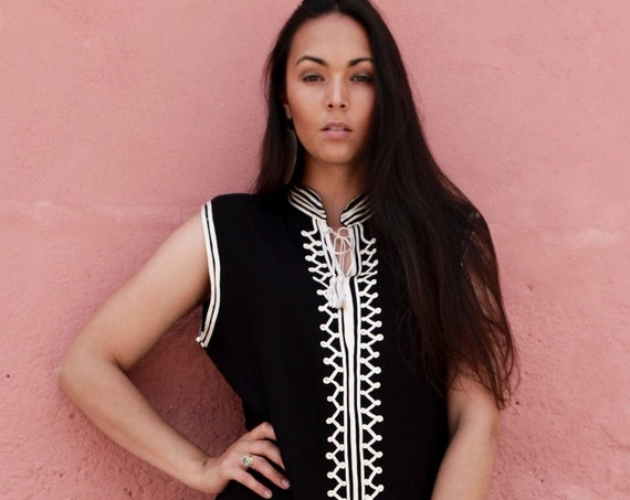 Kaftan//Black white Kaftan -Zizi Caftan,Lounge Dress,  Dress, Bohemian Clothing, Maternity Dress, beach, stay home wear