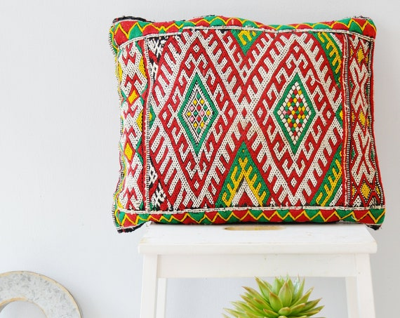 Winter Vintage Moroccan Boho Pattern Kilim Berber Carpet Cushions-lumbar, vintage cushions, christmas gifts, gifts, rug cushion covers No.6