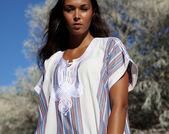 White Kaftan, dress, Caftan Resort Caftan Kaftan- loungewear, beachwear,cover ups,resortwear, maternity kaftan,summer dress, moroccan kaftan