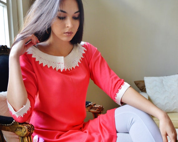 Winter Pink Marrakech Dress - perfect   gifts, resort wear, party,casual dress, resortwear, holiday, eid, , Moroccan dress, dress