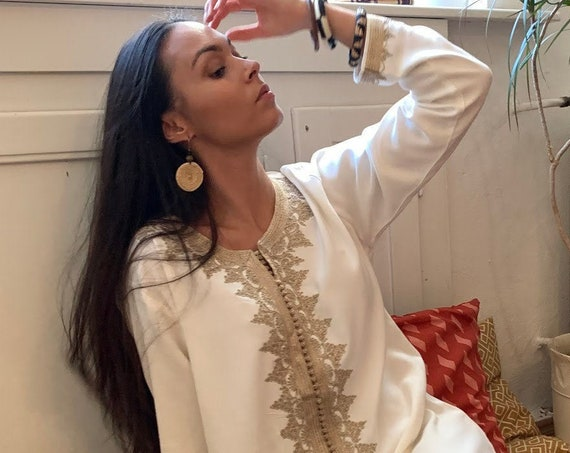Spring Trendy Finds Clothing White &Beige kaftan Maxi Dress- Karima-loungewear,  Eid, , or Maternity Gifts, kaftan, dress,beach kaftan