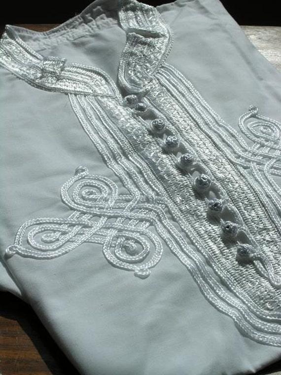 Gift for Men// Winter Men's White Kaftan Shirt- resort wear wear, beach wear, birthdays, Valentine's day , gifts for him,Black Friday