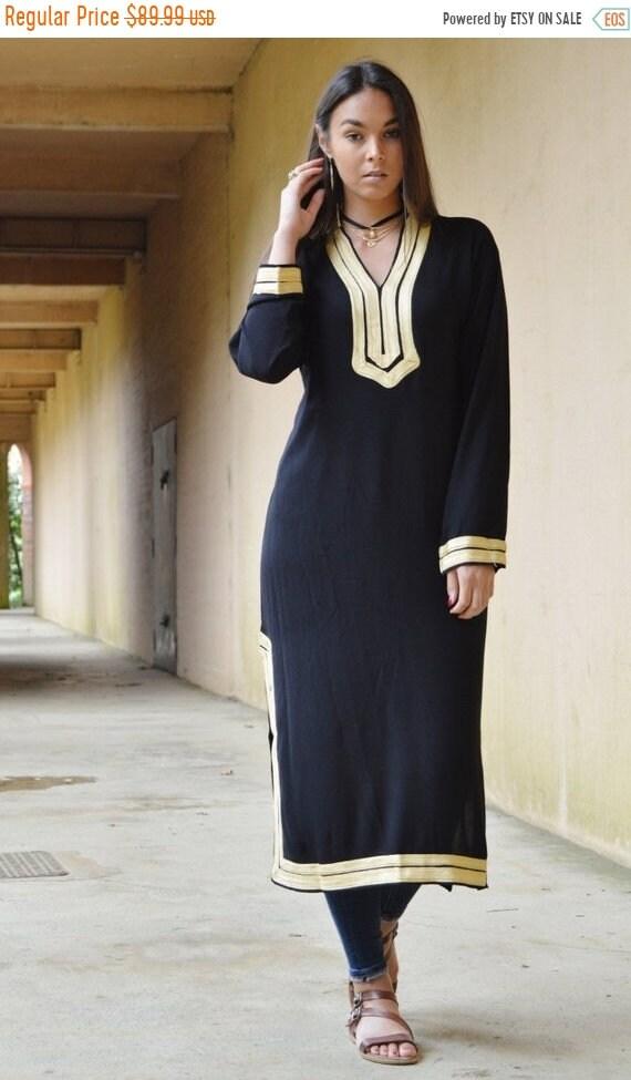 Kaftan Sale / Autumn TREND | Black Mariam Kaftan- caftan, kaftan, loungewear, resortwear, beach cover ups, birthday gifts, moroccan k