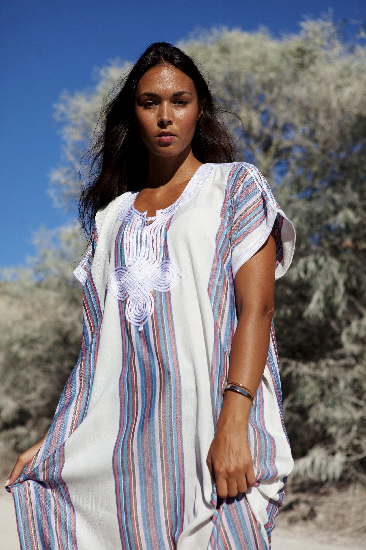 04e2fd20e4 40% OFF SALE//White Kaftan, dress, Caftan Resort Caftan Kaftan ...