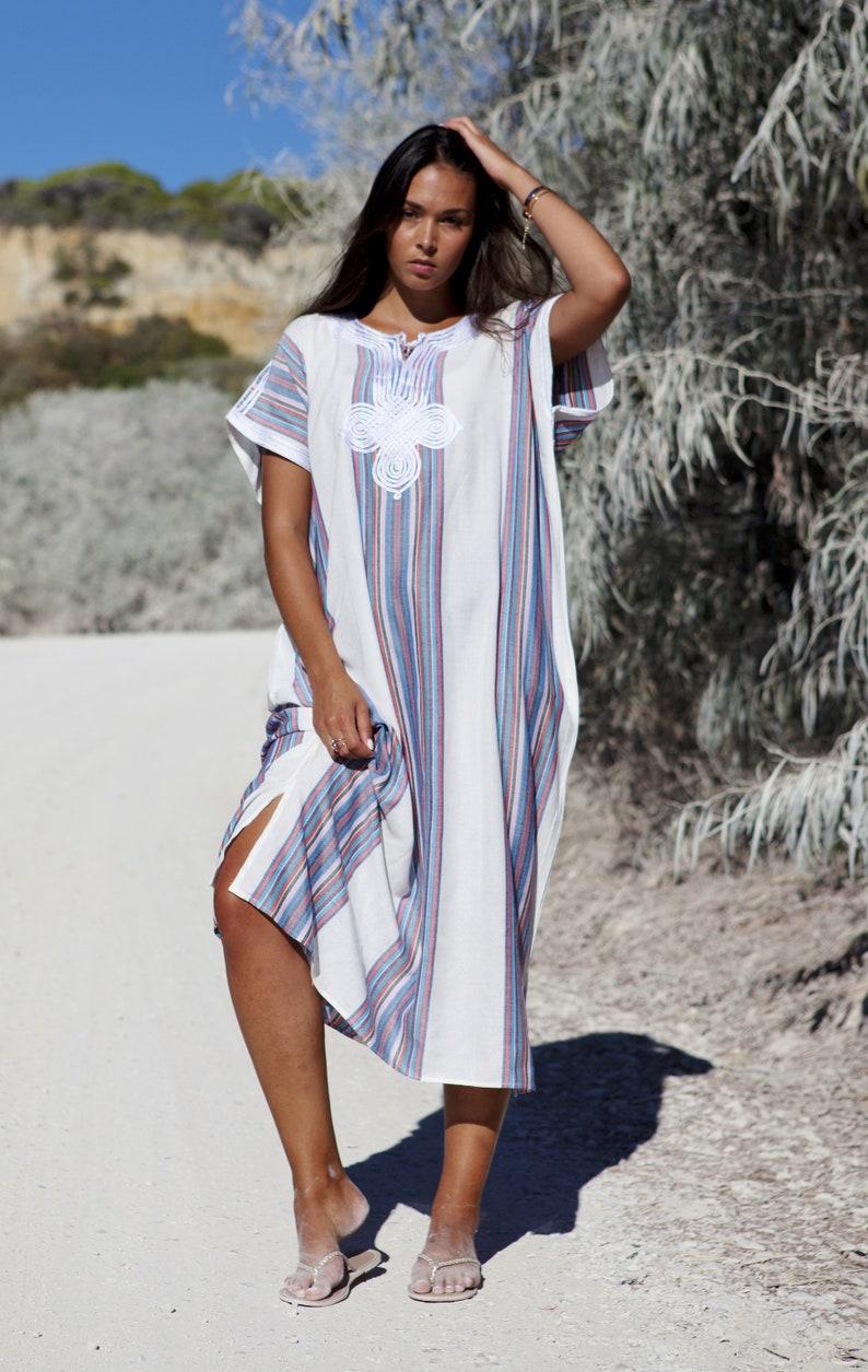 1b937f7091 40% OFF SALE//White Kaftan dress Caftan Resort Caftan | Etsy