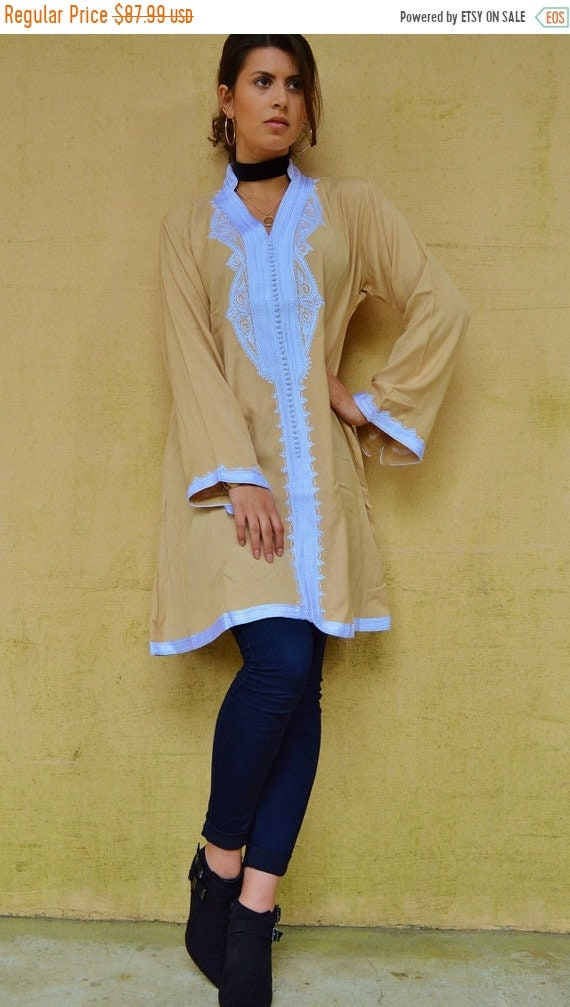 Kaftan Sale / Beige Marrakech Dress - perfect for christmas gifts, birthday gifts, resort wear, party,casual dress, moroccan dress, w