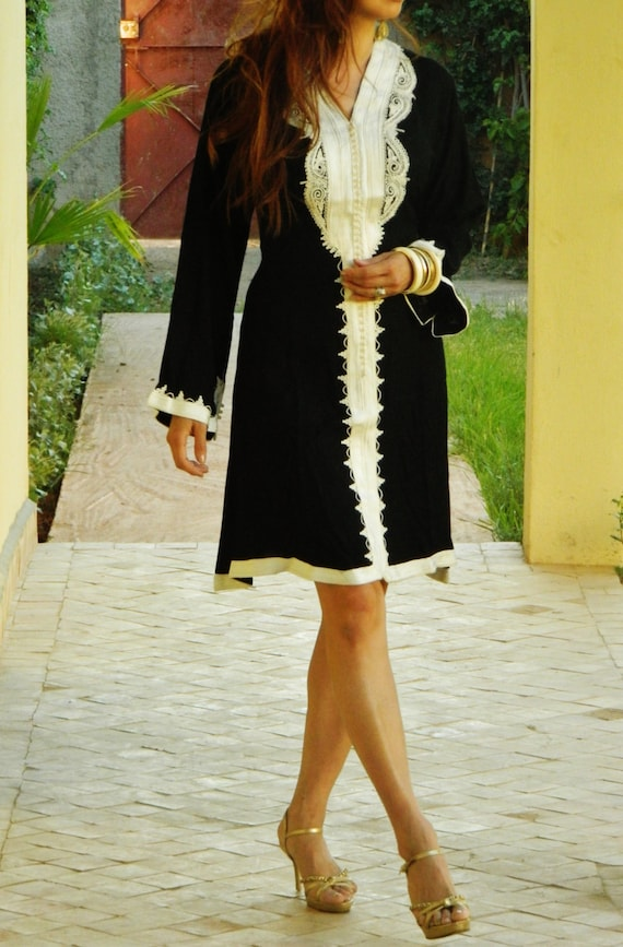 Summer Clothing Black Marrakech Dress -  resort wear, holidays, birthday gifts, resort wear, holiday shopping, wedding, Ramadan, Eid,