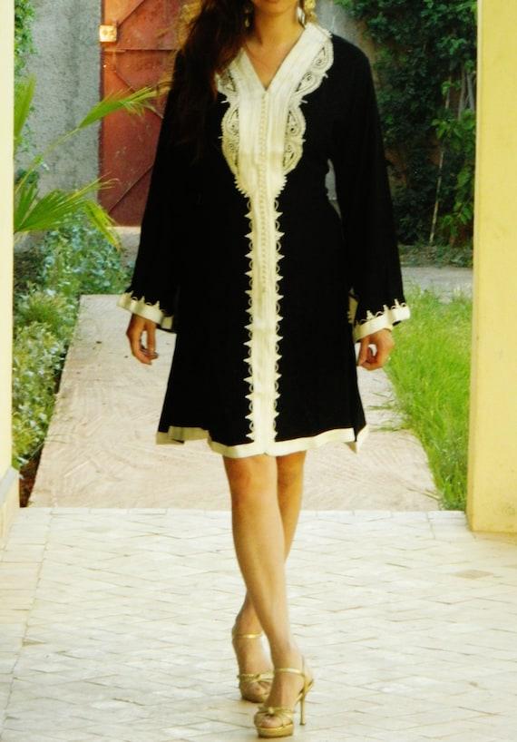 Black Tunic Marrakech Gifts Eid gifts for Dress Birthday Ramadan Ramadan Fatimah perfect Eid Style HZHBrxn