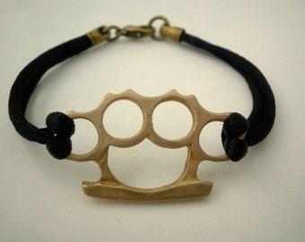 Brass Knuckles Bracelet