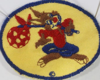 1940s Brer Rabbit YELLOW patch, WWII Bond Bread (General Baking Co.) Advertising Patch, Walt Disney Collectible, Vintage