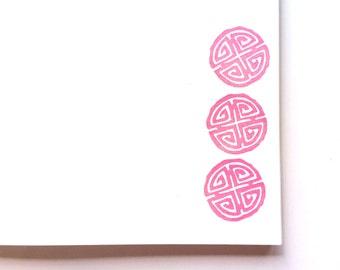 Longevity. Rubber stamp