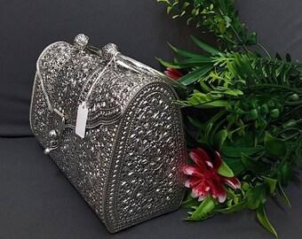 Nature Mood, Craftmanship Silver Bag : 925 Sterling (small)