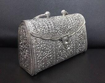 Nature Mood, Craftmanship Silver Bag : 925 Sterling (big)