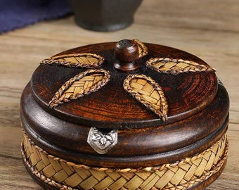 Multi Purpose : Craft Round Box