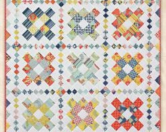 Charm Pack Quilt Pattern ~ PAGANINI ~ by Schnibbles Miss Rosie/'s Quilt Co.