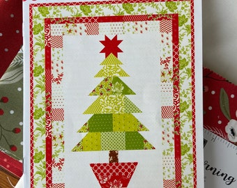 Oh Christmas Tree  Quilt Kit with Christmas Morning fabric by Lella Boutique