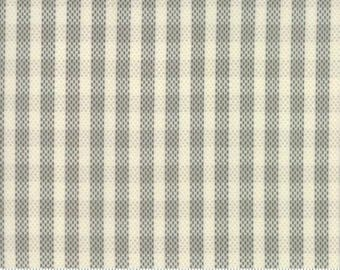 Spring a Ling - Gray Plaid Quilting Fabric by American Jane from Moda