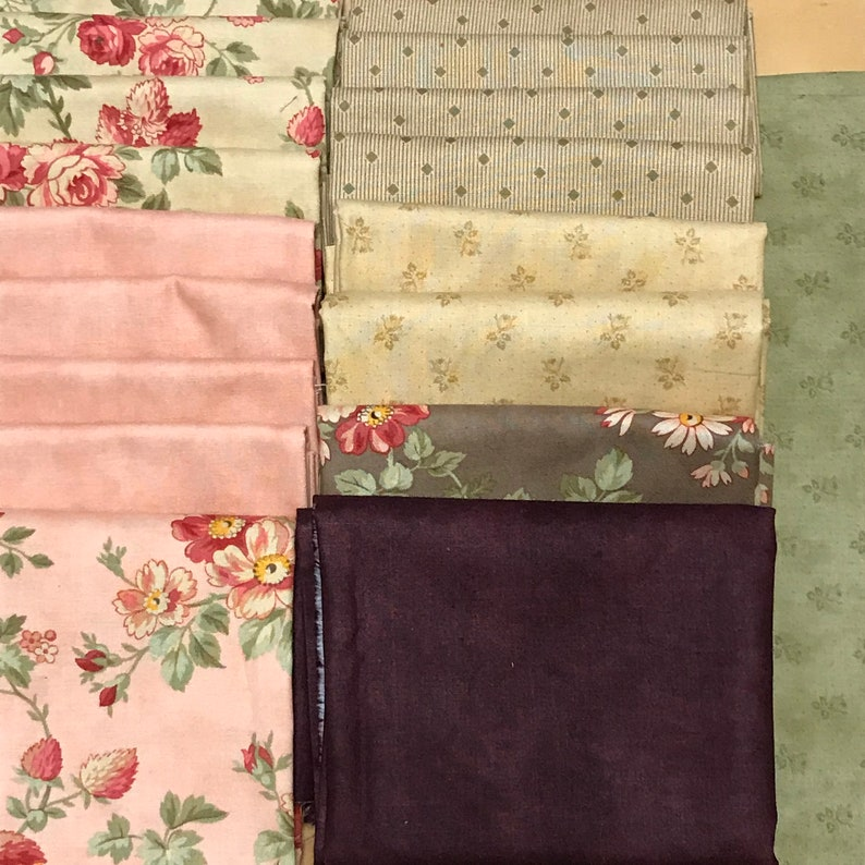MODA Courtyard by 3 sisters 100/% cotton bundles /& fabrics for sewing /& patchwork