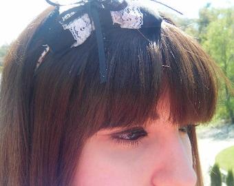 Tuxedo Lolita Bow