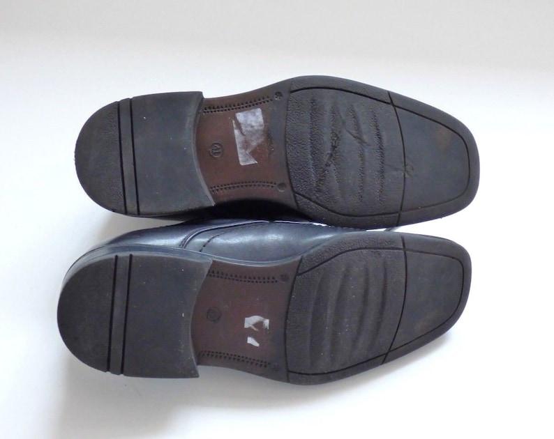 Men/'s Vintage CRUIZER Lace Up Black 100/% Genuine Leather Business Formal Casual Shoes Size UK7 EU41