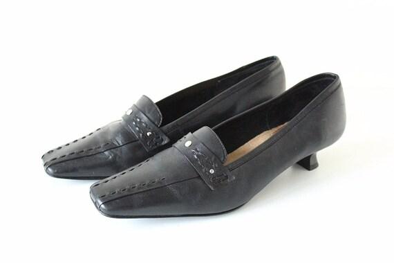 Vintage Casual v MOCCA 100 Cour noir cuir 8R08pqr