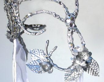 Sarah Masquerade ball headpiece Labyrinth cosplay costume