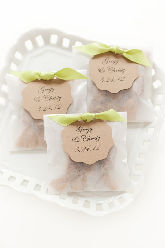 Best Seller Fleur De Sel Caramel Wedding Favors In Eco Etsy