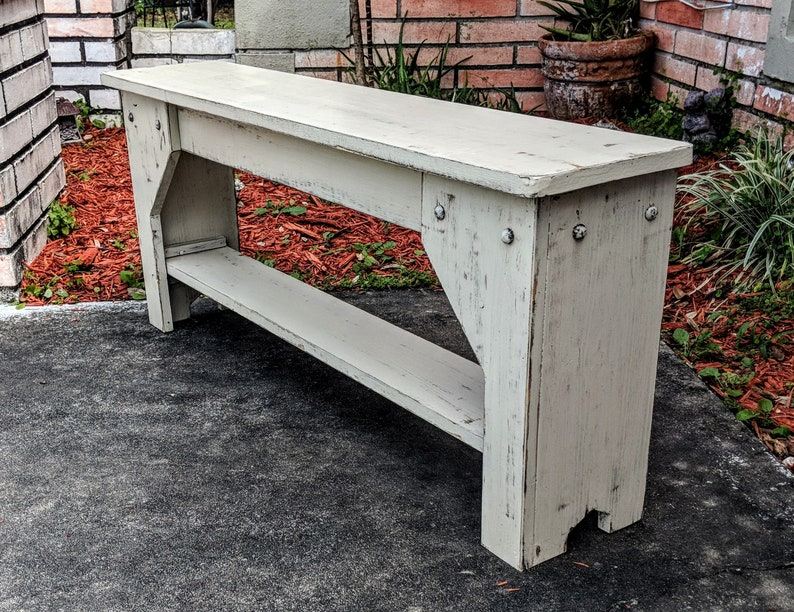 Brilliant Extra Thin Rustic Bench Indoor Bench Entry Bench Wooden Bench Farmhouse Furniture Entryway Bench Mudroom Bench Small Bench Pabps2019 Chair Design Images Pabps2019Com